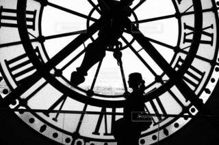 オルセー美術館 大時計の裏側の写真・画像素材[1594439]