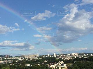 虹の街の写真・画像素材[1595923]