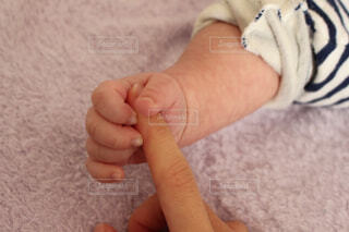 赤ちゃんの手の写真・画像素材[1696767]