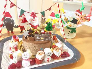 クリスマスケーキ デコレーション(Christmas cake decoration )の写真・画像素材[1601177]