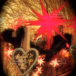 クリスマス デコレーションの写真・画像素材[1603379]