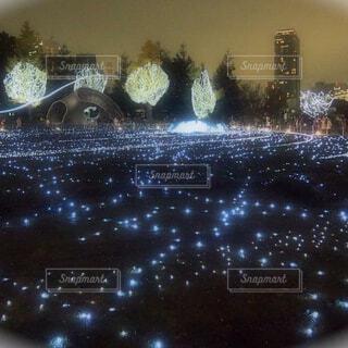 都会イルミネーションの写真・画像素材[1603503]