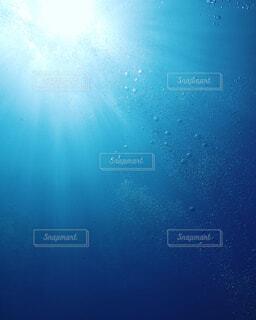海の中からの日差しの写真・画像素材[1881630]