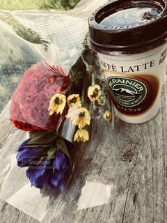 一杯のコーヒーの写真・画像素材[1382976]