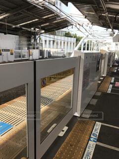 近くに鉄道駅のの写真・画像素材[1428207]