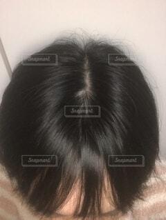 白髪が増えたの写真・画像素材[1680846]