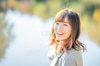 笑顔の女性の写真・画像素材[1637153]