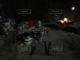 キャンプの写真・画像素材[1600506]
