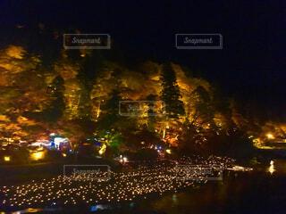 香嵐渓の写真・画像素材[1642345]