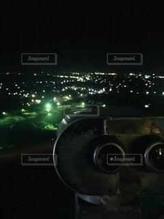 高台からの夜景の写真・画像素材[1601480]