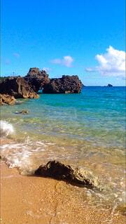 プライベートビーチの写真・画像素材[1653174]