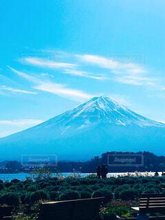 河口湖からの富士山の写真・画像素材[1684768]