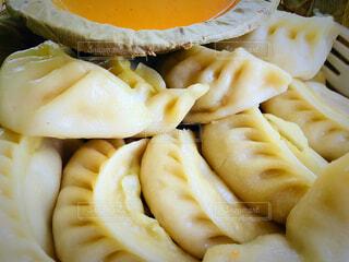 ネパールの蒸し餃子 モモの写真・画像素材[2871220]