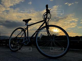 自転車の写真・画像素材[1644043]