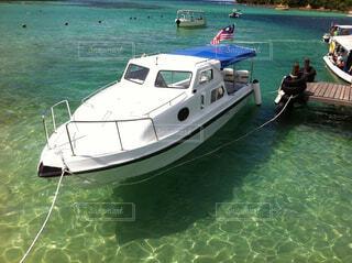 小さなボートの写真・画像素材[1601702]