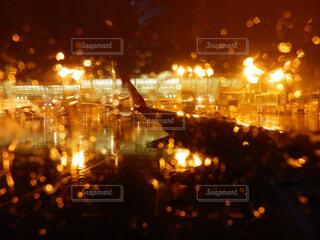 夜の景色の写真・画像素材[1601726]