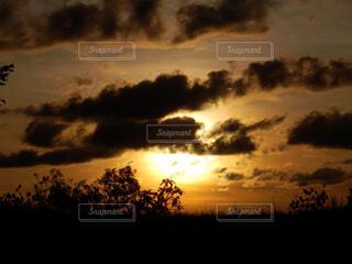 空の雲の写真・画像素材[1602042]