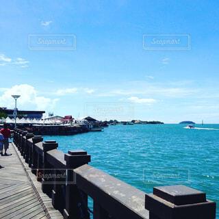 桟橋の写真・画像素材[1602808]