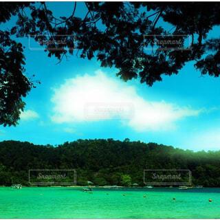 海と空の色の写真・画像素材[1602862]