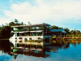 水上レストランの写真・画像素材[1616554]