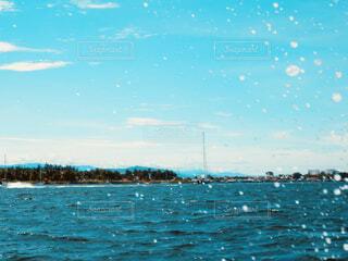水の大きな体の写真・画像素材[1616665]