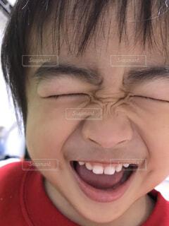 満面の笑みの写真・画像素材[1631696]