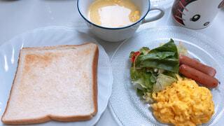 手作り朝食の写真・画像素材[1604996]