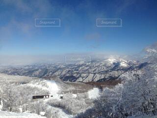 雪山の写真・画像素材[1606068]