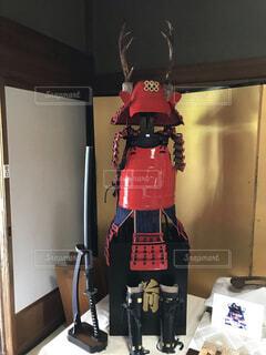 憧憬閣の鎧 展示品の写真・画像素材[1608468]