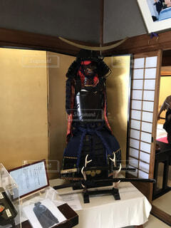 憧憬閣の展示品 鎧の写真・画像素材[1608506]