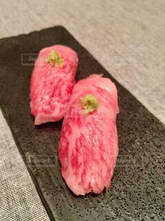 和牛鮨の写真・画像素材[1608032]
