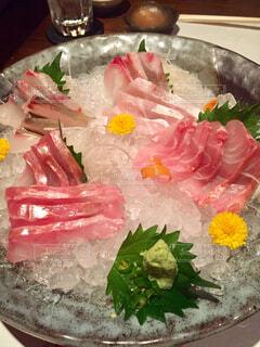 天然魚のみのお刺身盛り合わせの写真・画像素材[1608162]