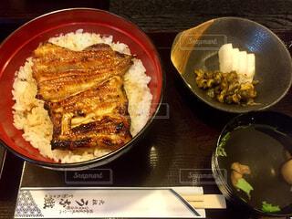 鰻定食の写真・画像素材[1608706]
