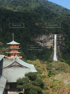 熊野那智大社  那智の滝の写真・画像素材[1610330]