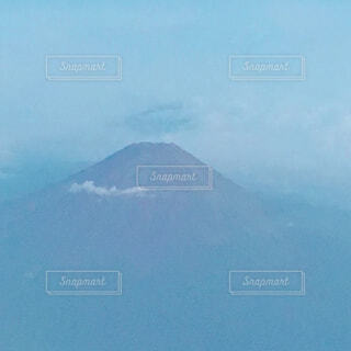 飛行機からの富士山の写真・画像素材[1621465]