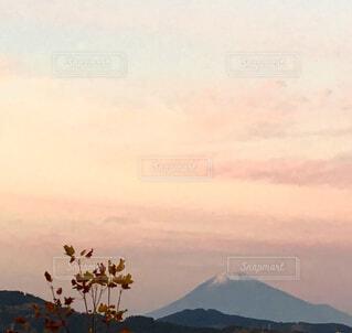 毎日富士山 夕焼けの写真・画像素材[1638834]
