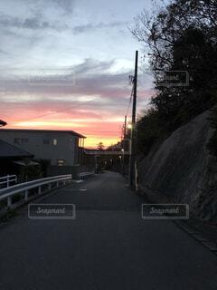 夕暮れの写真・画像素材[1609897]