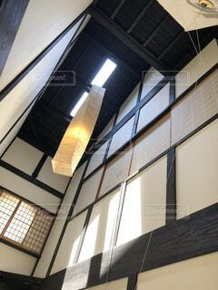 背の高いガラスの建物の写真・画像素材[1621824]