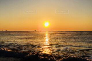 太平洋からの日の出の写真・画像素材[936221]