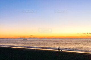 太平洋からの日の出の写真・画像素材[939061]