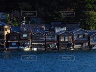 伊根の舟屋の写真・画像素材[1624221]