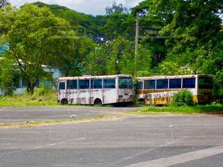 廃バスの写真・画像素材[1611922]