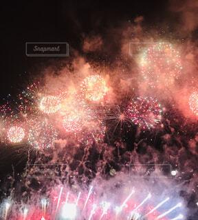 淀川花火大会の写真・画像素材[1611368]