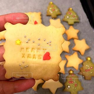 手作りクッキーの写真・画像素材[1686735]