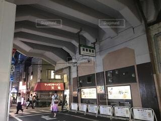 高架下の駅・浅草橋駅の写真・画像素材[1614501]