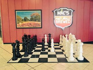 クライストチャーチ空港のチェス盤の写真・画像素材[1614660]