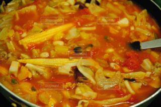 スープを一杯の写真・画像素材[2787330]