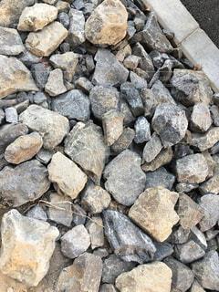 石がゴロゴロの写真・画像素材[1662720]