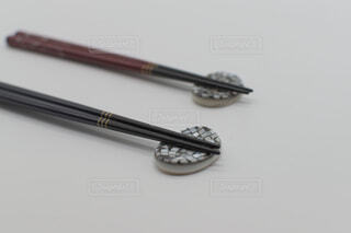 夫婦箸の写真・画像素材[2675007]