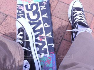 白い靴の写真・画像素材[2261457]